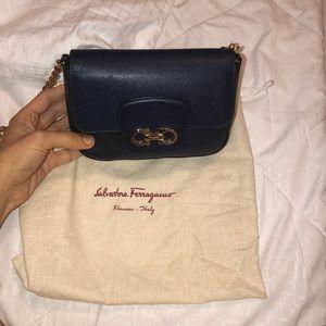 Ferragamo navy bag